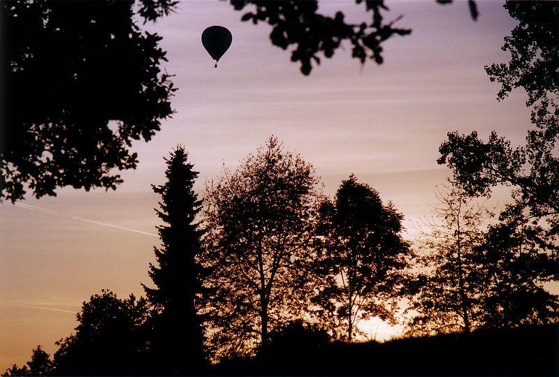 Sonnenuntergang auf dem Sandberg.....