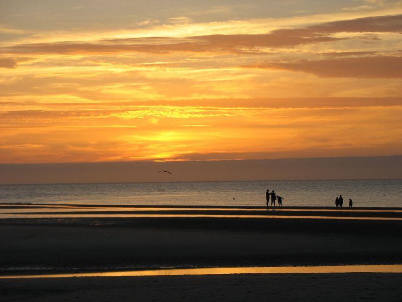 Sonnenuntergang auf der Insel Amrum (1)