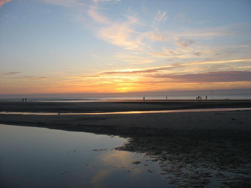 Sonnenuntergang auf der Insel Amrum (2)