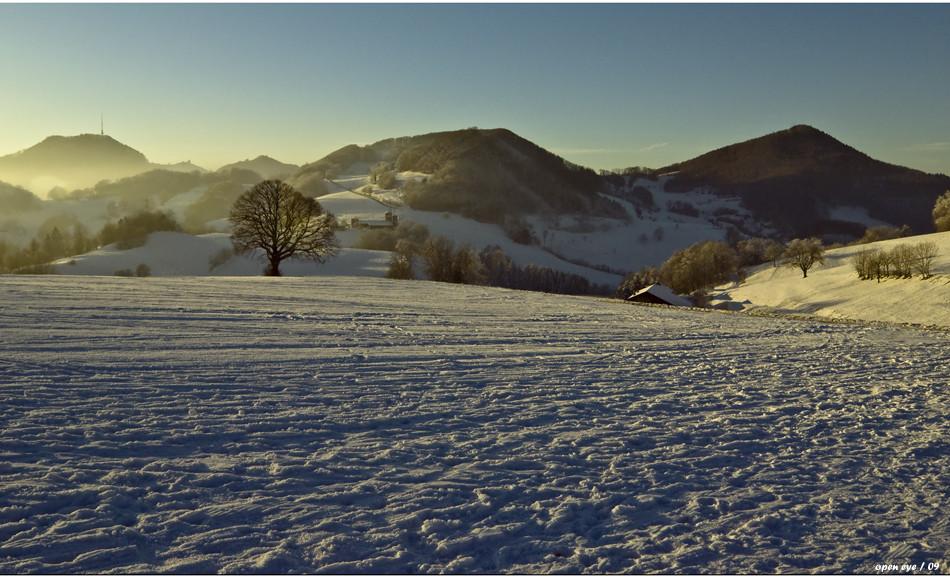 Sonnenuntergang auf der Staffelegg - Kt. AG - CH