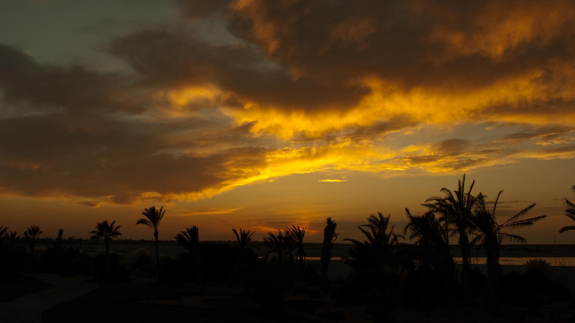 Sonnenuntergang auf Djerba