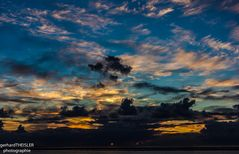 Sonnenuntergang auf Foer