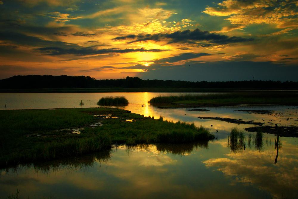 Sonnenuntergang auf Fyn