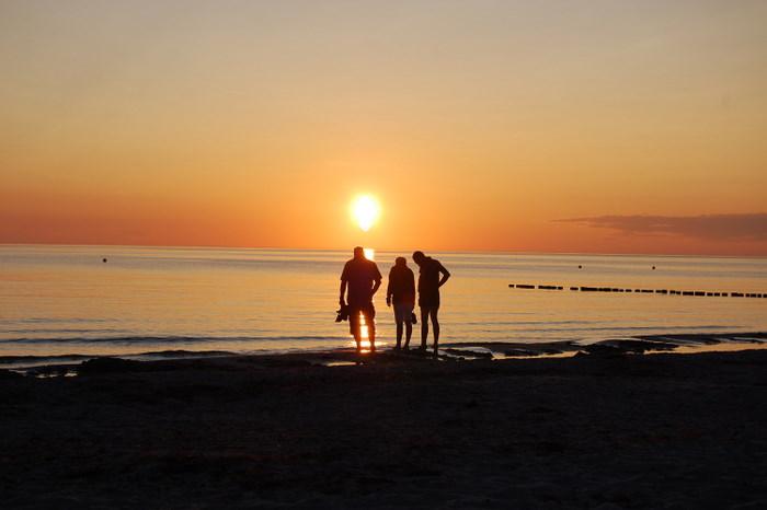 Sonnenuntergang auf Hiddensee1