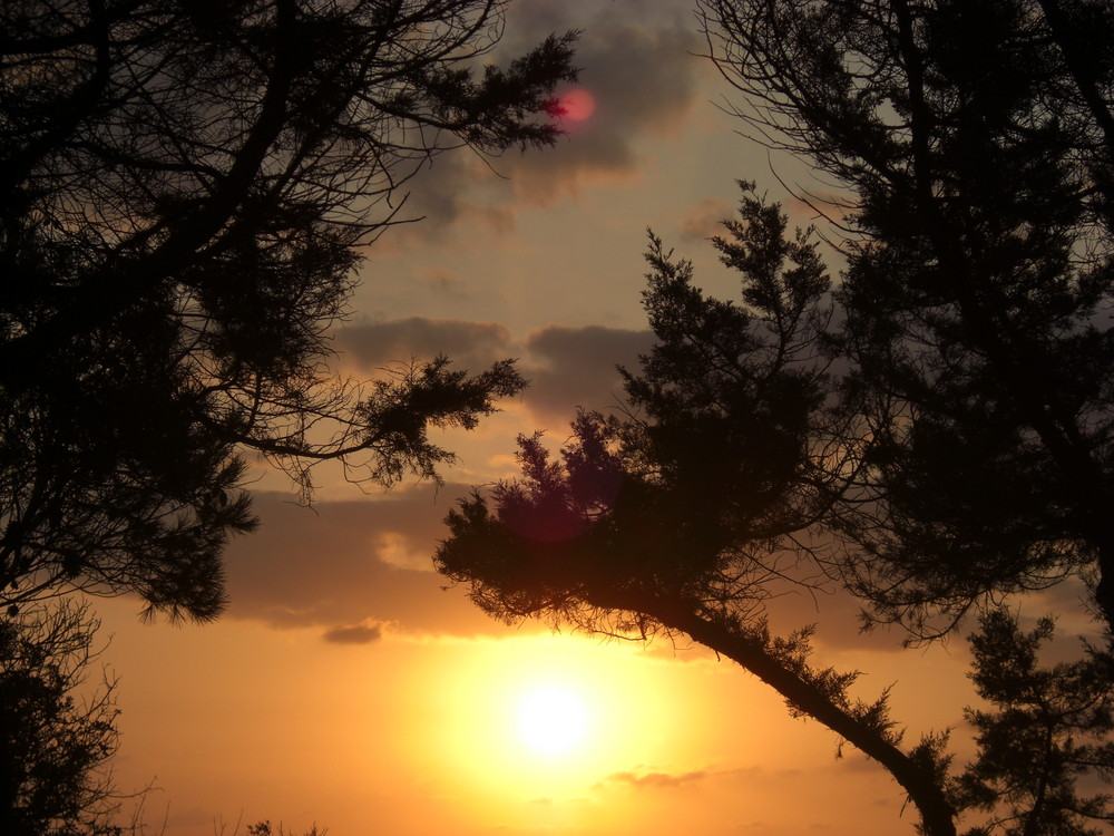 Sonnenuntergang auf Ibiza