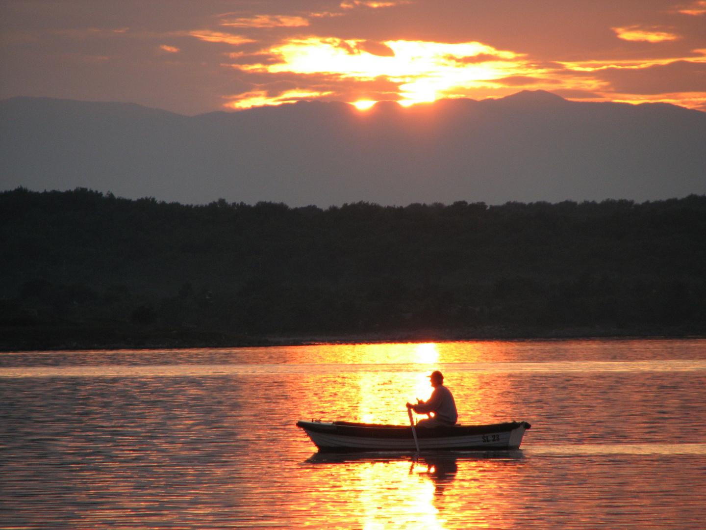 Sonnenuntergang auf Krk