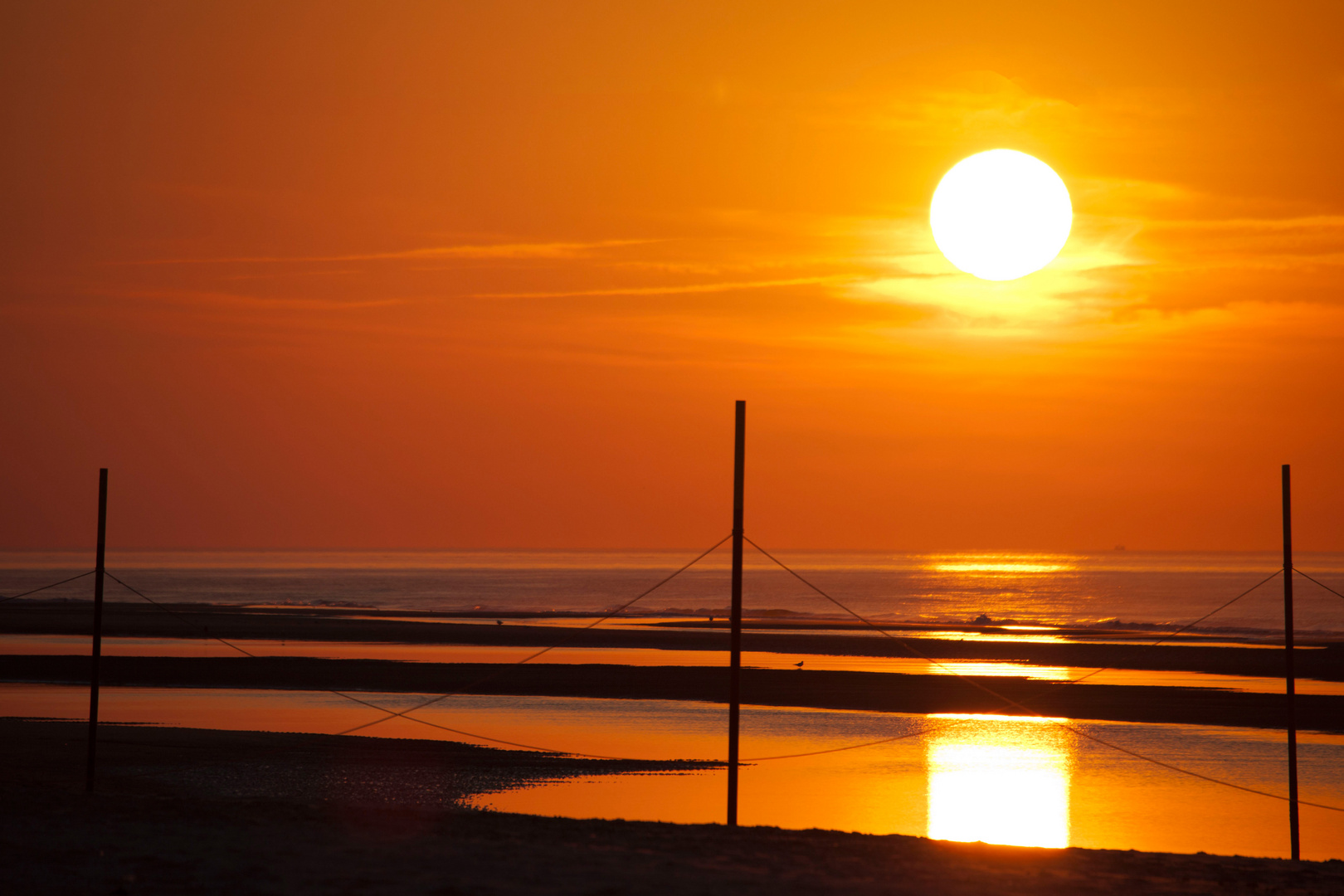Sonnenuntergang auf Langeoog 2