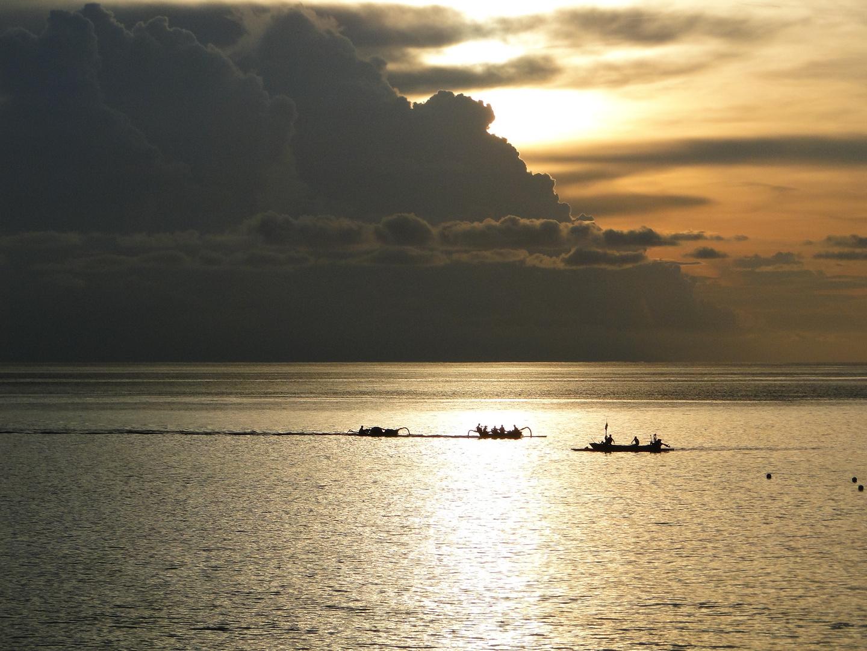 Sonnenuntergang auf lombok