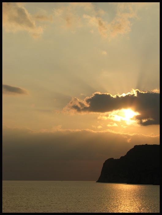 Sonnenuntergang auf Mallorca Paguera II