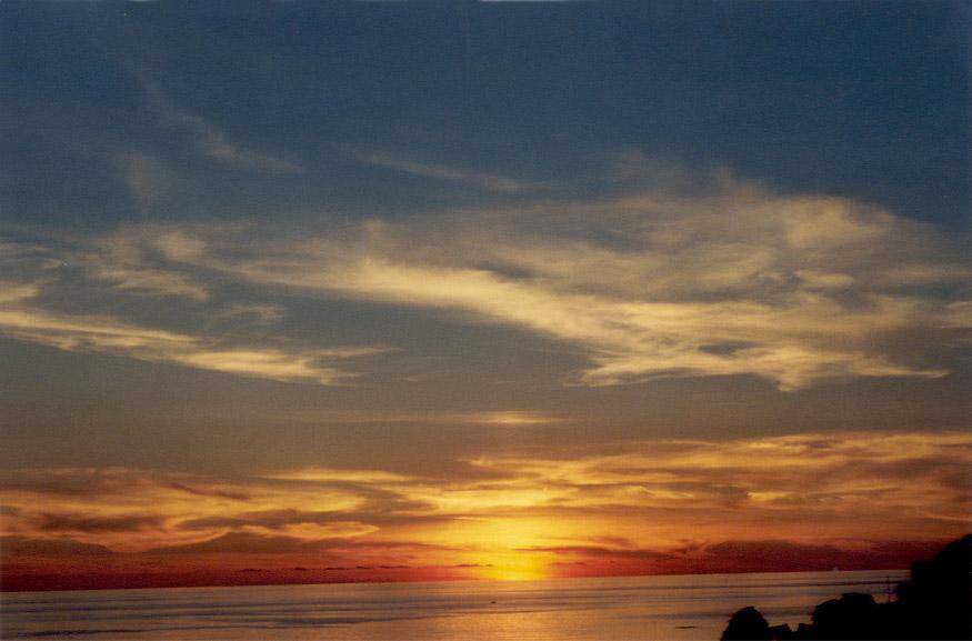Sonnenuntergang auf Malta 2002
