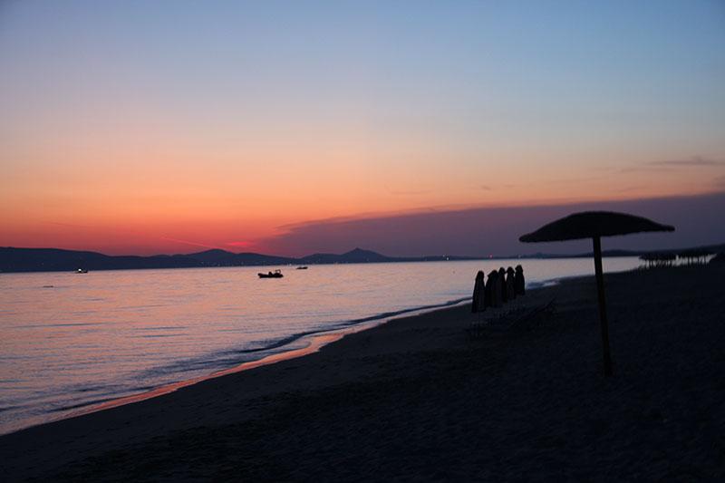 Sonnenuntergang auf NAXOS