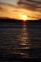 Sonnenuntergang auf Orcas Island