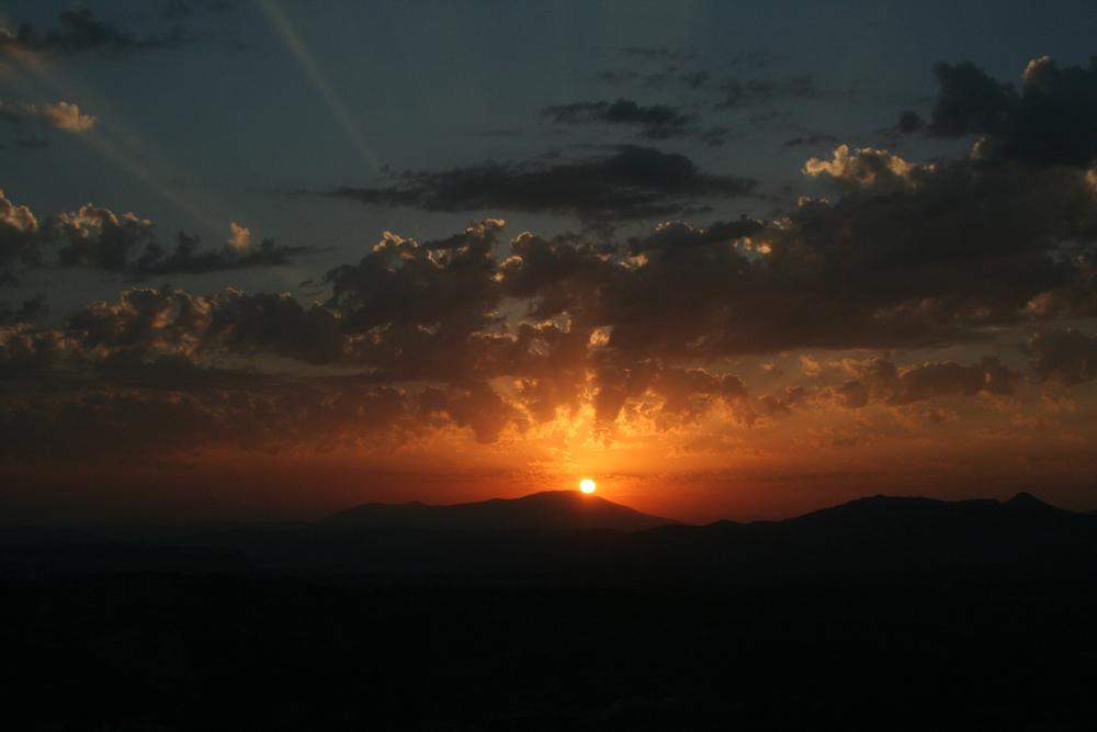 Sonnenuntergang auf Rhodos 2