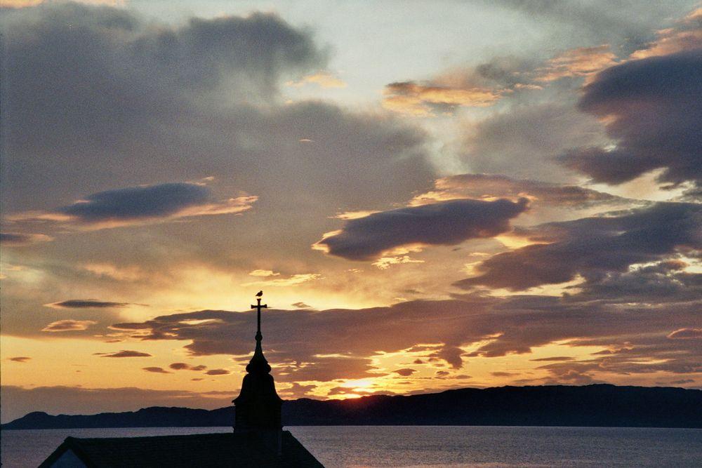 Sonnenuntergang auf Skye