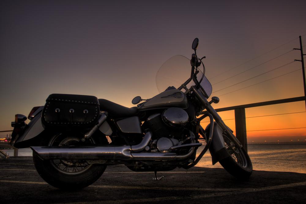 Sonnenuntergang auf South Padre Island