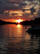 Sonnenuntergang auf Toronto Island
