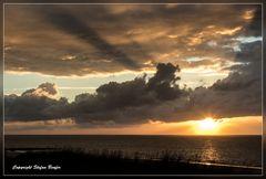 Sonnenuntergang auf Wangerooge