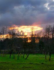 Sonnenuntergang auf westfälisch...