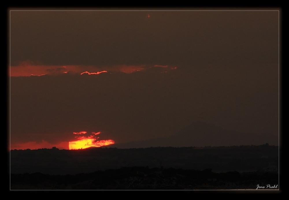 Sonnenuntergang auf Zypern (noch einer , ich weiß)