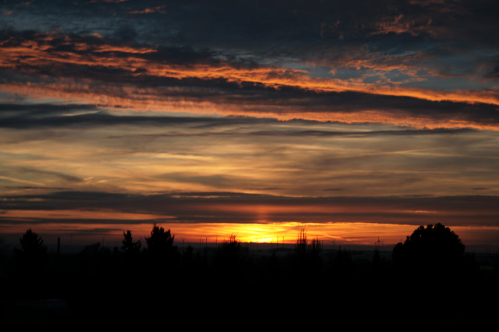 Sonnenuntergang bearbeitet