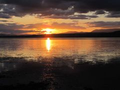 Sonnenuntergang Beauly Firth bei Inverness