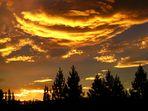 Sonnenuntergang bei Mount Cook