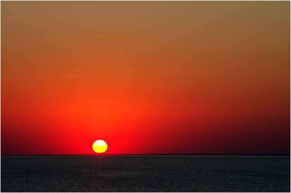 Sonnenuntergang bei Odessa
