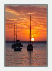 Sonnenuntergang bei Puerto Soller