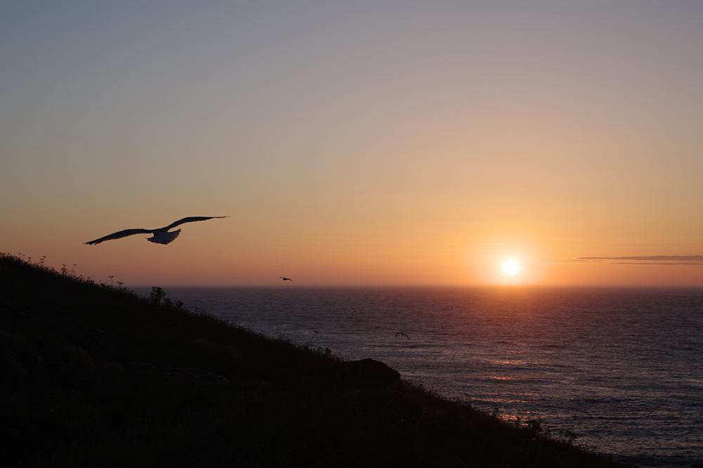 Sonnenuntergang bei St. Ives