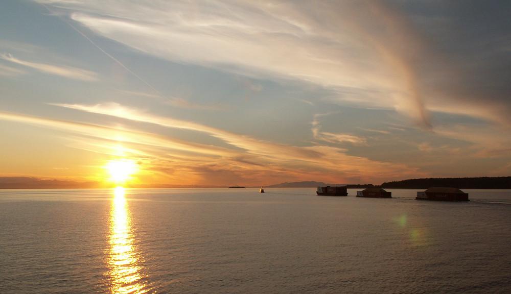 Sonnenuntergang bei Vancouver Island II