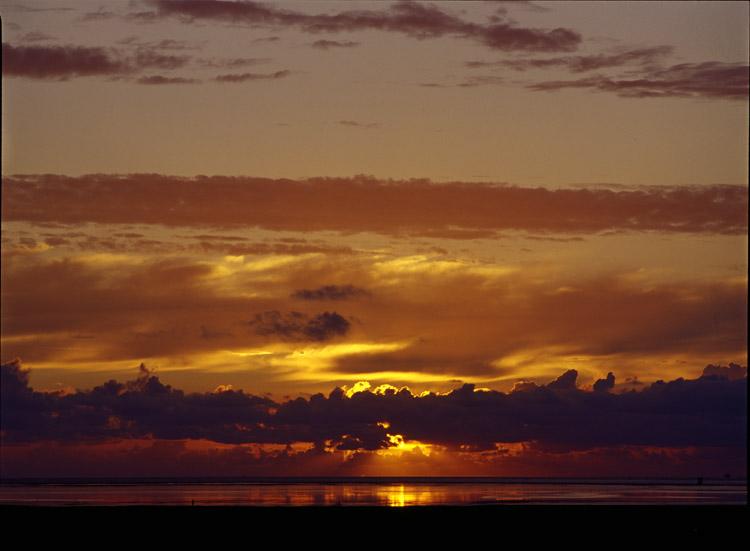 Sonnenuntergang bei Westerhever II