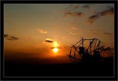 Sonnenuntergang beim Bauer Glaßl