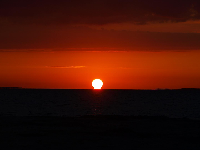 Sonnenuntergang Bensersiel