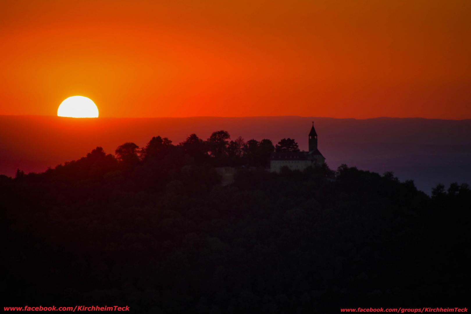 Sonnenuntergang-Breitenstein