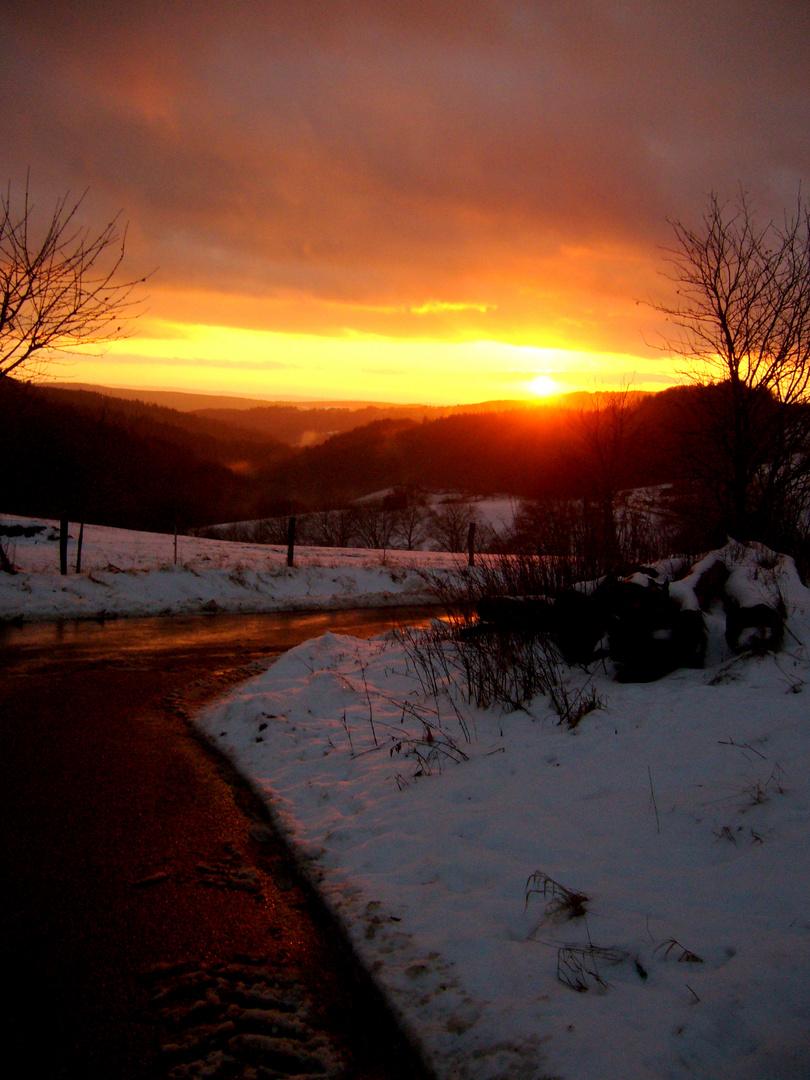 Sonnenuntergang (: