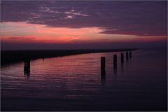 Sonnenuntergang ...