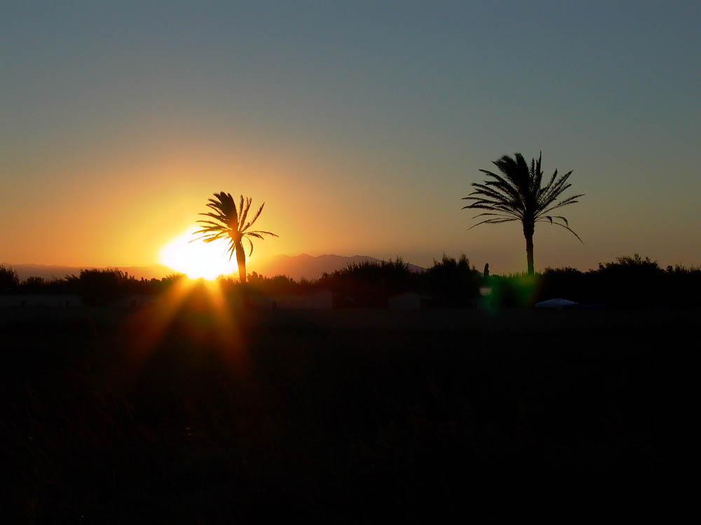 Sonnenuntergang Costa Brava