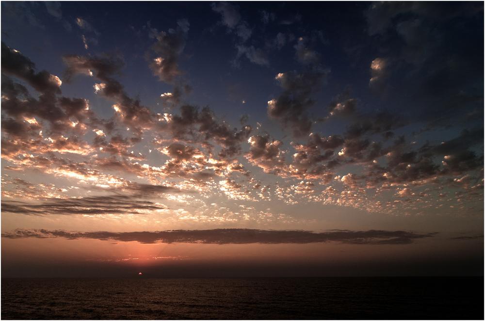 Sonnenuntergang das Finale