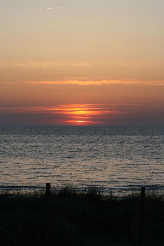 Sonnenuntergang Den Haag