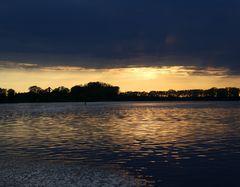 Sonnenuntergang Donau / Metten I