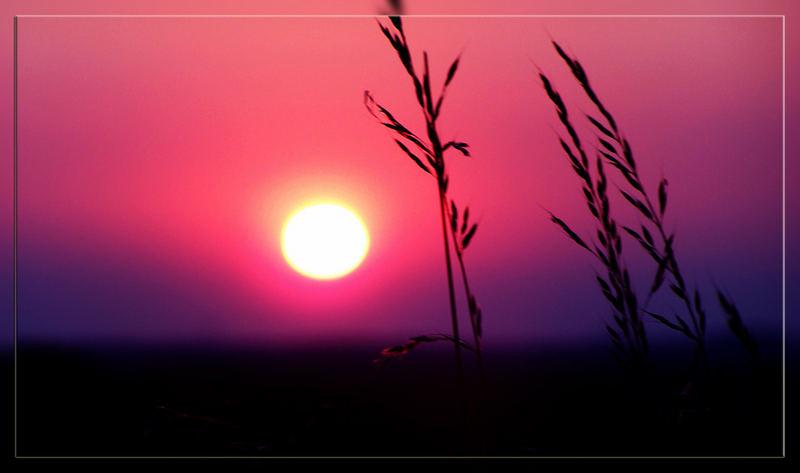 Sonnenuntergang Dorsten 2
