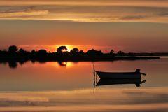 Sonnenuntergang Drejby