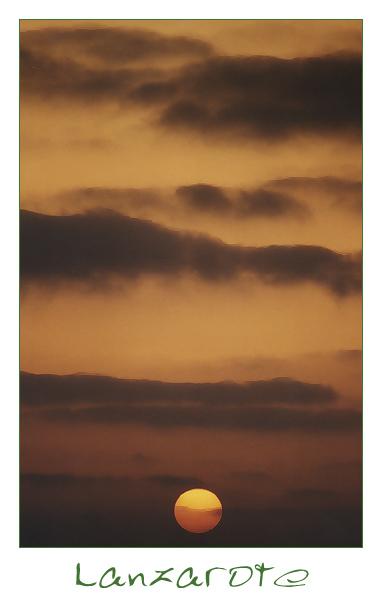| | Sonnenuntergang | | El Golfo | | #3