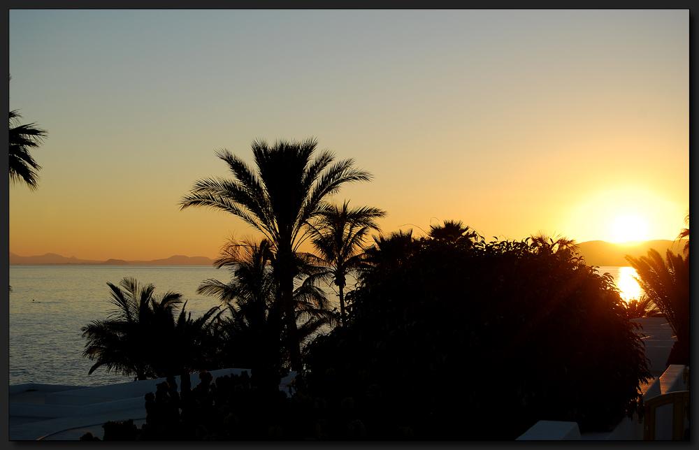 ...Sonnenuntergang...