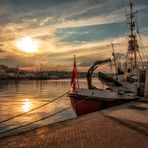 Sonnenuntergang Flensburger Hafen