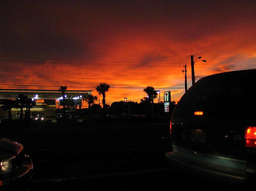 Sonnenuntergang Ft. Myers / Florida