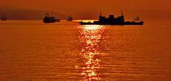 Sonnenuntergang, Gebze Türkei