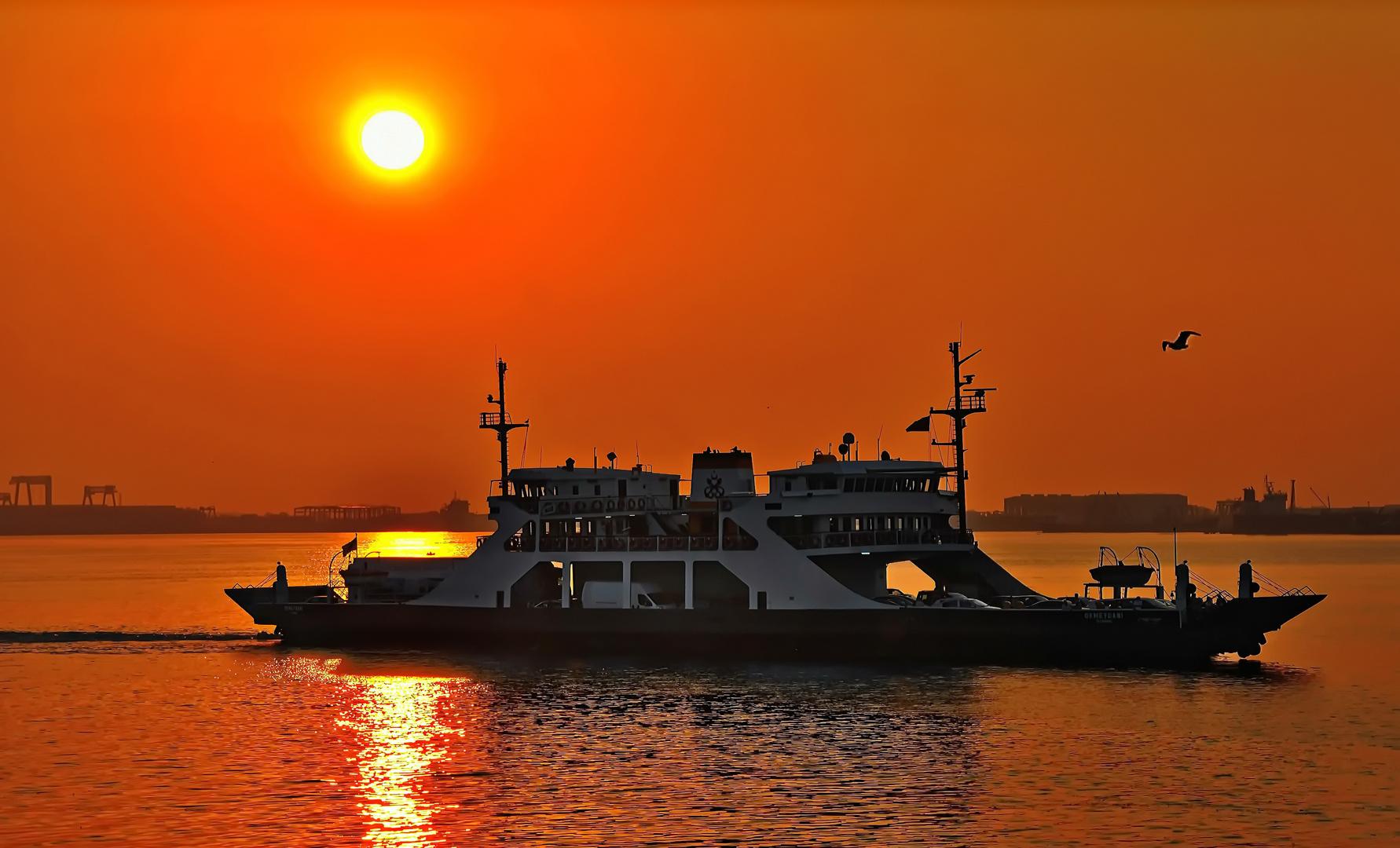 Sonnenuntergang - Gebze Türkei -