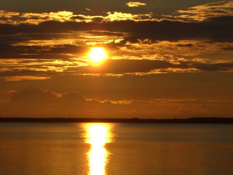 Sonnenuntergang Glowe auf Rügen