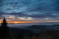 Sonnenuntergang Gosheim